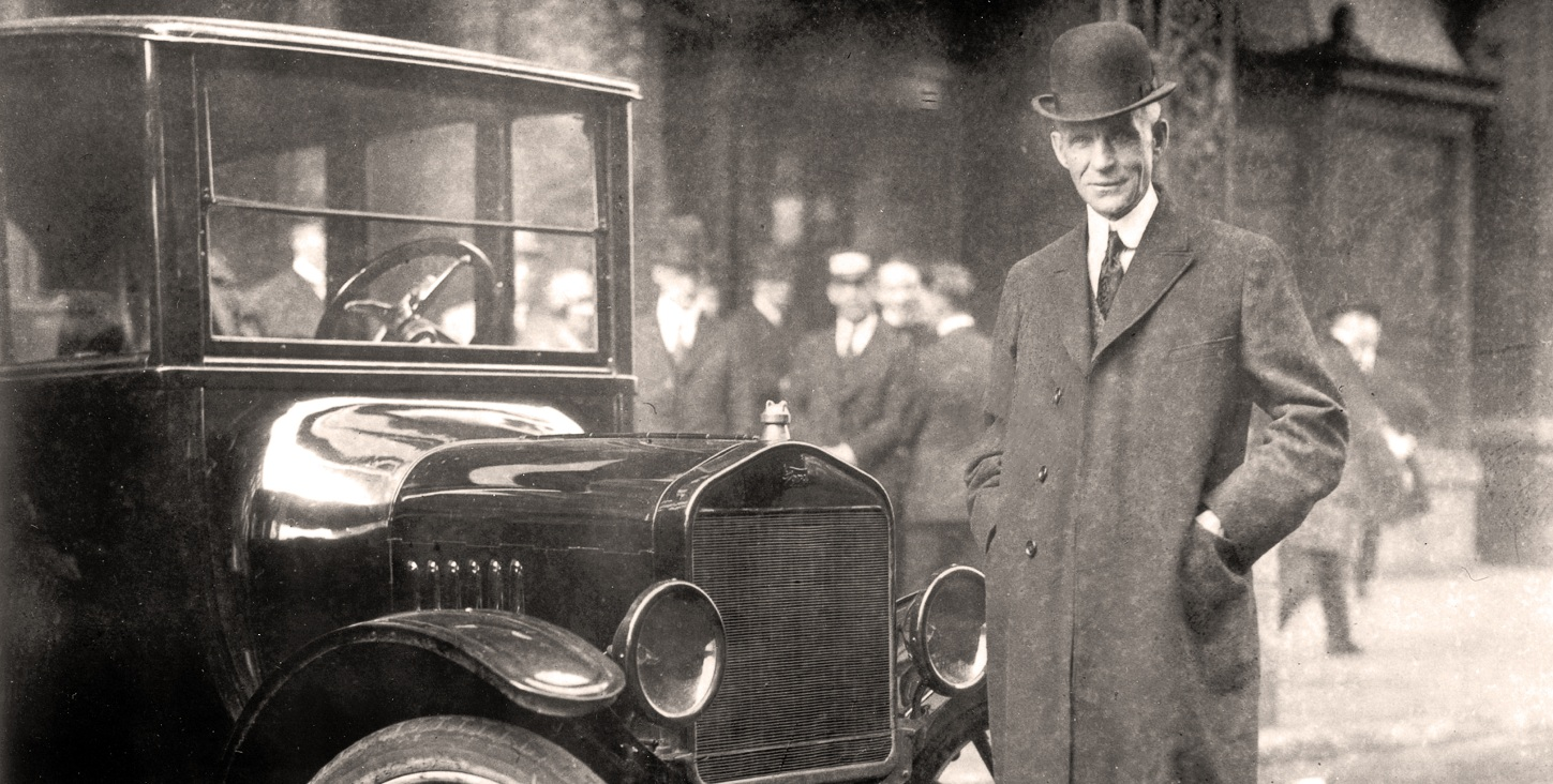 henry fords passion to change the world of automobiles Henry ford was a great innovator in that he brought the automobile to the masses however he fell short because he failed to capitalize on the fact that a customers unspoken needs and unspoken wants don't stop changing and therefore drives a need for continues innovation.